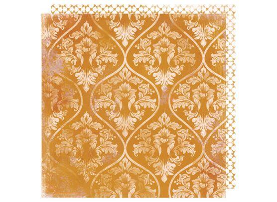 Honey & Spice - Flourish mønsterpapir fra Heidi Swapp