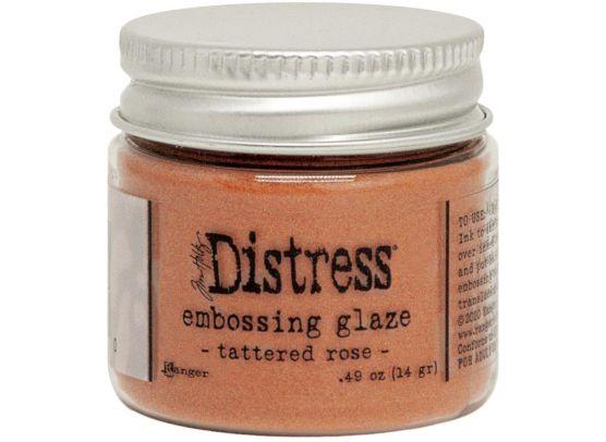 Distress Embossing Glaze - Antique Linen