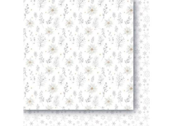 White As Snow 6x6 Paper Pad fra Paper Heaven