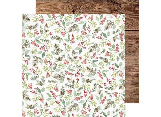Winter Wonderland - Merry Christmas mønsterpapir fra Heidi Swapp