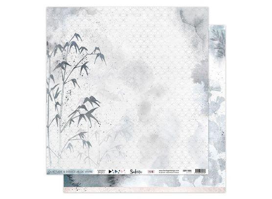 Add on September - Sakura 8 Mønsterpapir fra Florileges Design