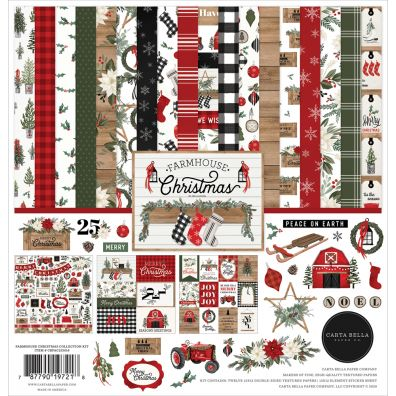 Echo Park Farm House christmas Collection Kit