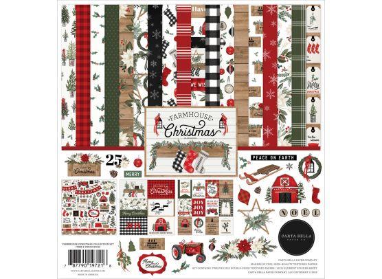 Echo Park Farm House christmas Collection Kit