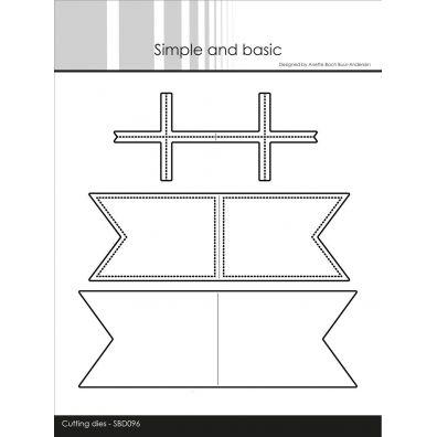 Simple and Basic dies - Stort Flag