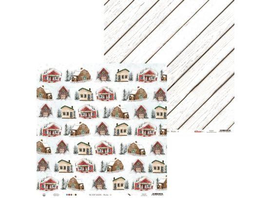 The Four seasons Winter 01 - Mønsterpapir fra Piatek