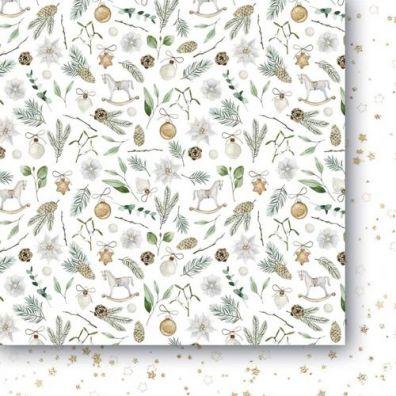 White As Snow 04 Mønsterpapir Paper Heaven