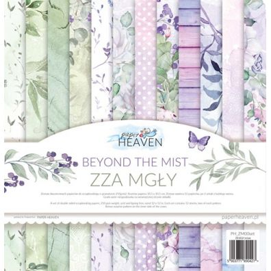 Beyond The Mist 12x12 Paper Collection fra Paper Heaven