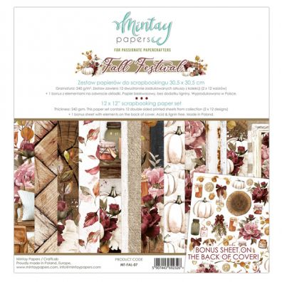 Add on September - Mintay Papers - Day By Day 12x12 Paper Pack