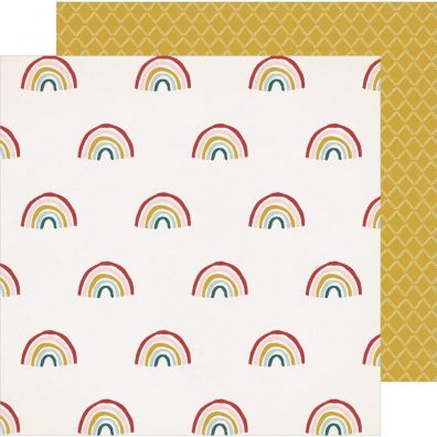 Magical Forest - Sunlight 12x12 mønsterpapir fra Crate Paper