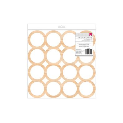 Circles - 12x12 Wood Veneer fra American Crafts