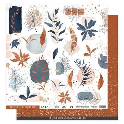 La Maison De Jeanne 8 - 12x12 mønsterpapir fra Florileges Design