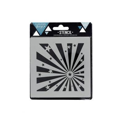 Add on September - Florileges Design Clear Stamp - Dekorative cirkler