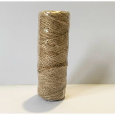 Natural Twine - Natur snor, 3mm, 100 m