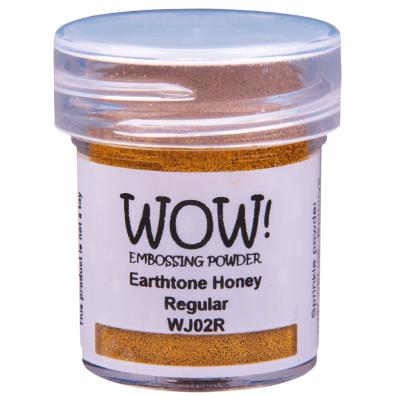 Wow Embossing pulver - Metallic Gold Rich Pale Super Fine