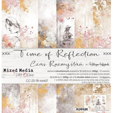 Time Of Reflection 12x12 Collection Pad fra Craft O'Clock