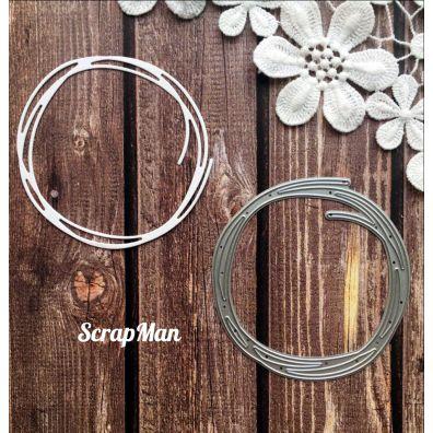 Scrapman Dies - Blooming Frame