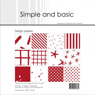 Simple and Basic - Design Papers - Warm Grey