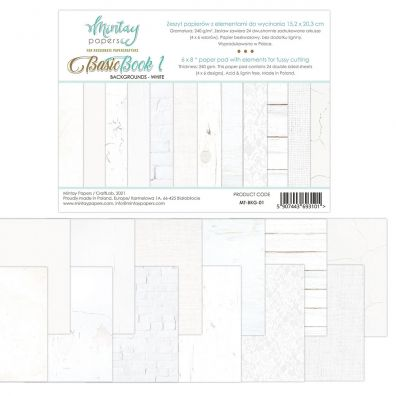 Add on April - EKSTRA Mintay Papers - Basic Book 1 - 6 x 8 Paper Pad