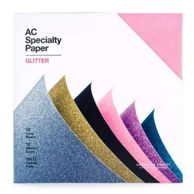 American Crafts Cardstock Variety Pack Glitter