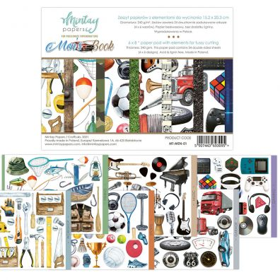 Mintay Papers - Basic Book 3 6x8 Paper Pad