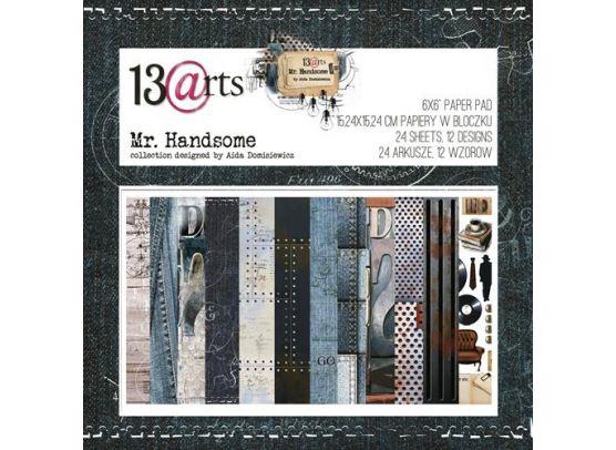 In Love 6x6 Paper Pad fra 13arts