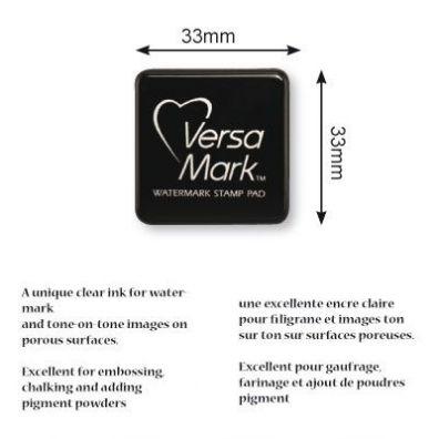 VersaMark Watermark Stamp Pad - 3x3 cm.
