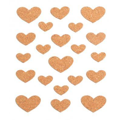 Vaessen Creative - Cork Stickers - Butterflies 12,5x14,5 cm
