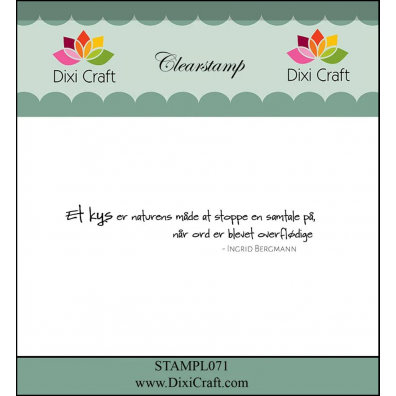 Dixi Craft Clear stamp Sketch Circle