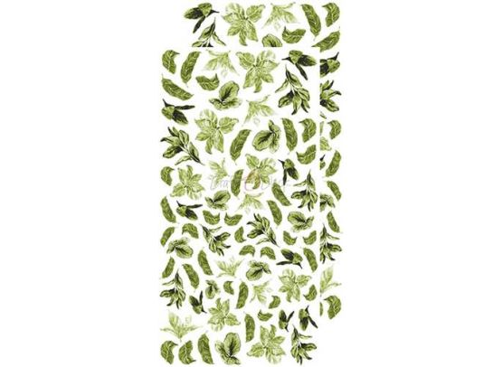 Basic Leaves Set 1 - Green - Extras to Cut 15,5x30,5 cm. fra Craft O'Clock