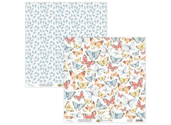 Mintay Papers - Bloomville 05 - 12x12 mønsterpapir