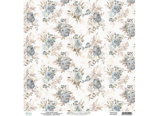Mintay Papers - Bloomville 01 - 12x12 mønsterpapir