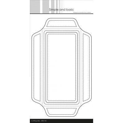 Simple and basic dies - Slimcard Kuvert