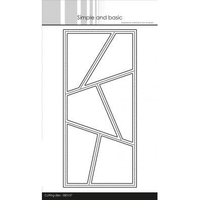 Simple and basic dies - Slimcard Wonky Windows