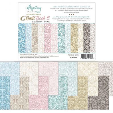 Mintay Papers - Flora Book 5 6x8 Paper Pad