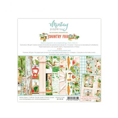 Mintay Papers - Country Fair 6x6 Paper Pad