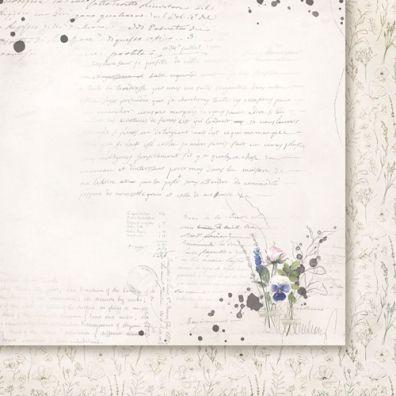 Love Notes 02 - 12x12 Mønsterpaper fra Paper Heaven