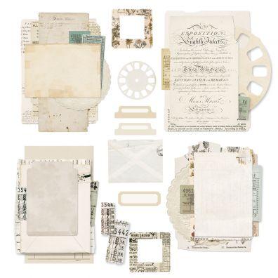 49 and Market - Essentials Ephemera Bits - Vintage Artistry - Retired