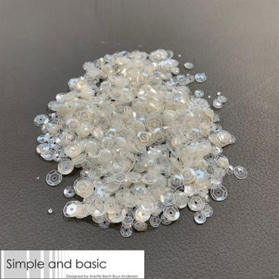 Add on August - Simple and Basic Sequins - Silver