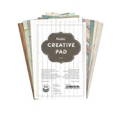 Add on August - Mini Creative Pad - Leaves fra Piatek13