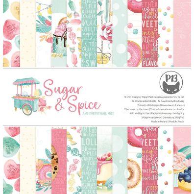 Maxi Creative Pad - Cosy Winter - Sugar & Spice