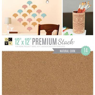 DCWV 12x12 Premium Stack - Natural Cork