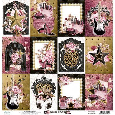 Mintay Papers - Glam Rock 06 12x12 mønsterpapir