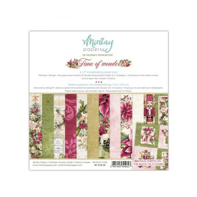 Mintay Papers - Time of Wonders 6x6 Paper Pad