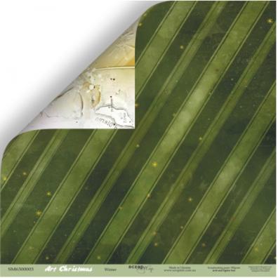 Cozy Forest - Forest Grass 12x12 mønsterpapir fra Scrapmir