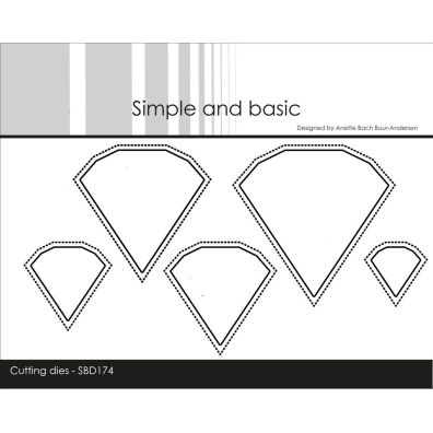 Simple and basic dies - Small Pierced Scalloped Squares
