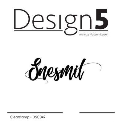 Design 5 Clear Stamp - Snesmil