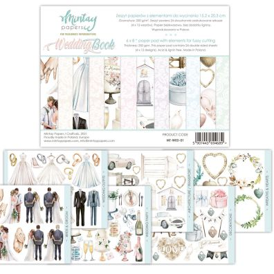Mintay Papers - Wedding Book 6x8 Paper Pad