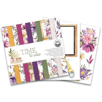 Time to Relax 12x12 Paper Pad by Piatek13