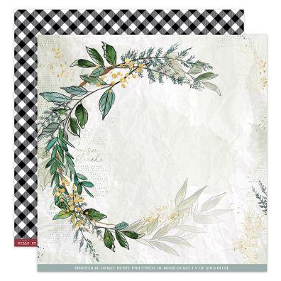 Add on November - EKSTRA Oh Winter 4 12x12 mønsterpapir fra Florileges Design