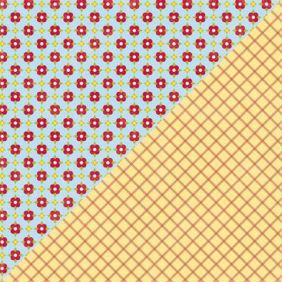 Neapolitan Frozen Spinach Mønsterpapir mønsterpapir fra